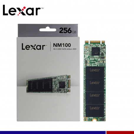 SSD LEXAR 256GB NM100 M.2 SATA