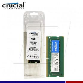 MEM. RAM CRUCIAL SODIMM 4GB DDR4 2666 MHZ