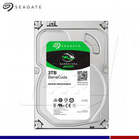 DISCO DURO SEAGATE BARRACUDA 3TB, 256 MB, 5400 RMP.
