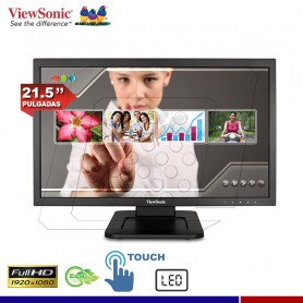 """MONITOR LED TOUCH 21.5"""" TD2220"""