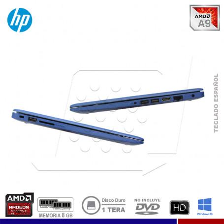 "PromoPlus: LAPTOP HP PAVILION 14-CM0006L AMD A9-9425, 8GB, 1TB, 14"" + MALETIN HP"