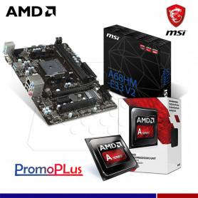 PromoPlus: PROCESADOR AMD 7480 + MAINBOARD MSI A68 FM2+