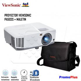 PromoPlus: PROYECTOR VIEWSONIC PA503 + MALETIN
