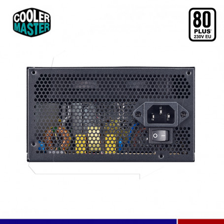 FUENTE COOLER MASTER MWE 500W 80 PLUS WHITE