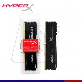MEM. RAM HYPERX FURY 8GB DDR4 3200 MHZ.