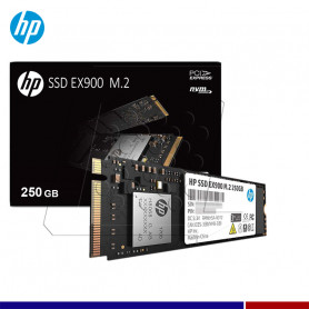 SSD HP EX900 250GB M.2 PCIe NVME