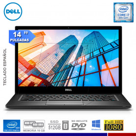 LAPTOP DELL LATITUDE 7490, INTEL CORE I7
