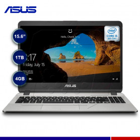 "LAPTOP ASUS X507UA-BR462, CORE I5, 4GB, 1TB, 15.6"" HD."