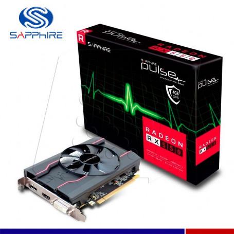 VGA SAPPHIRE AMD RADEON RX 550 PULSE 4GB GDDR5 128 BIT.