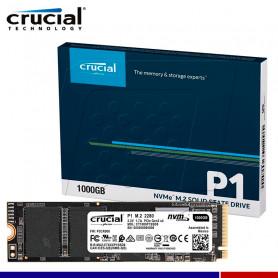SSD CRUCIAL P1 1TB NVME PCIe GEN3 X4 M.2