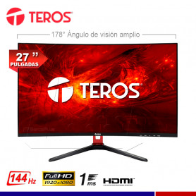 "MONITOR TEROS TE-3170N, 27"" LED CURVO 1MS"