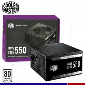 FUENTE CM MWE 550W 80 PLUS WHITE