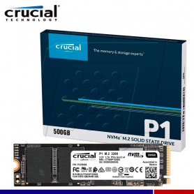SSD CRUCIAL P1 500GB NVME PCIe M.2