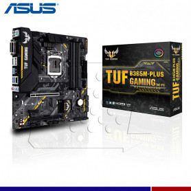 MAINBOARD ASUS TUF B365 PLUS GAMING WIFI.