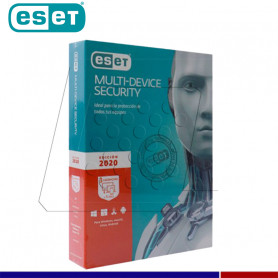 SOFTWARE ANTIVIRUS ESET NOD32 2020 MULTIDEVICE 3 DISPOSITIVOS.