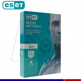 SOFTWARE ANTIVIRUS ESET NOD32 2020 5PC