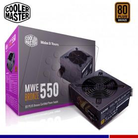 FUENTE CM MWE 550W 80 PLUS BRONZE V2