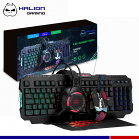 COMBO GAMER 4 EN 1 AKULA HA-870C HALION
