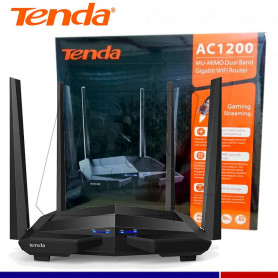 ROUTER INALAMBRICO TENDA AC10U AC1200 SMART DUAL-BAND GIGABIT.