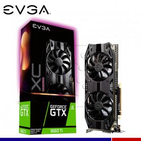 VGA EVGA NVIDIA GTX 1660 TI XC ULTRA GAMING 6GB.