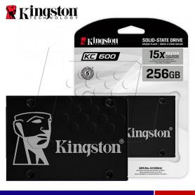 SSD KINGSTON KC600 256GB SATA 2.5.