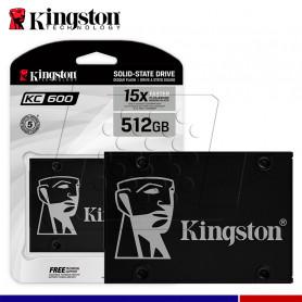 SSD KINGSTON KC600 512GB SATA 2.5