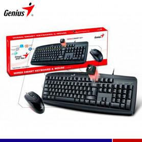 GENIUS TECLADO Y MOUSE KM-200 USB