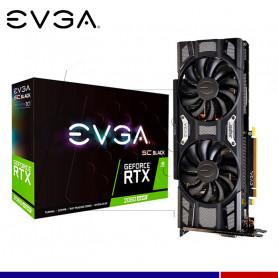 VGA EVGA NVIDIA RTX 2060 SUPER SC BLACK GAMING 8GB GDDR6.