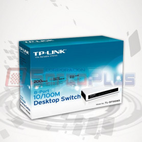 TPLINK SF 1008D 8PORT SWITCH