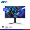 "MONITOR GAMING AOC C27G2 CURVO 27"" FHD VA, 165HZ, 1MS, AMD FREESYNC."