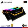 KIT MEM. RAM CORSAIR VENGEANCE RGB PRO TUF, 16GB (2 x 8), DDR4 3000 MHZ