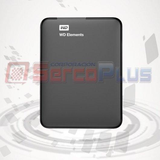 DISCO EXTERNO WESTERN DIGITAL ELEMENTS 1TB