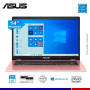 "LAPTOP ASUS E410MA-202 PINK, CELERON N4020, 4GB, 128GB EMMC, 14"" HD TECLADO Y WIN INGLES"