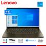 "LAPTOP LENOVO YOGA SLIM 7 14ITL05, CI5-1135G7, 8GB, SSD 256GB, 14"" FHD, WINDOWS."