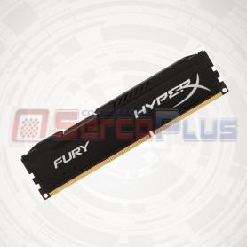 MEM. RAM HYPERX FURY BLACK 4GB DDR3 1600 MHZ