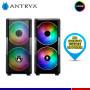 CASE ANTRYX FX CRUISER BLACK, FAN ARGB X 3, V/TEMPLADO, MESH
