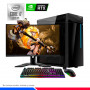 Pc Gaming Plus i7-10700F, 16GB RAM, SSD 500GB M.2, GEFORCE RTX 3060 12GB