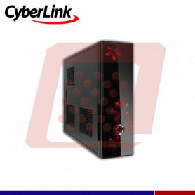 CASE CYBERLINK S102B NEGRO/ROJO