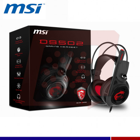 AURICULAR GAMING MSI DS502 7.1