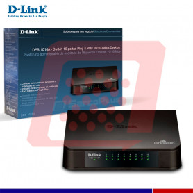 SWITCH D-LINK 16 PORT 10/100