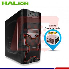 CASE GAMER HALION X-MEN 3313BR ROJO 350W