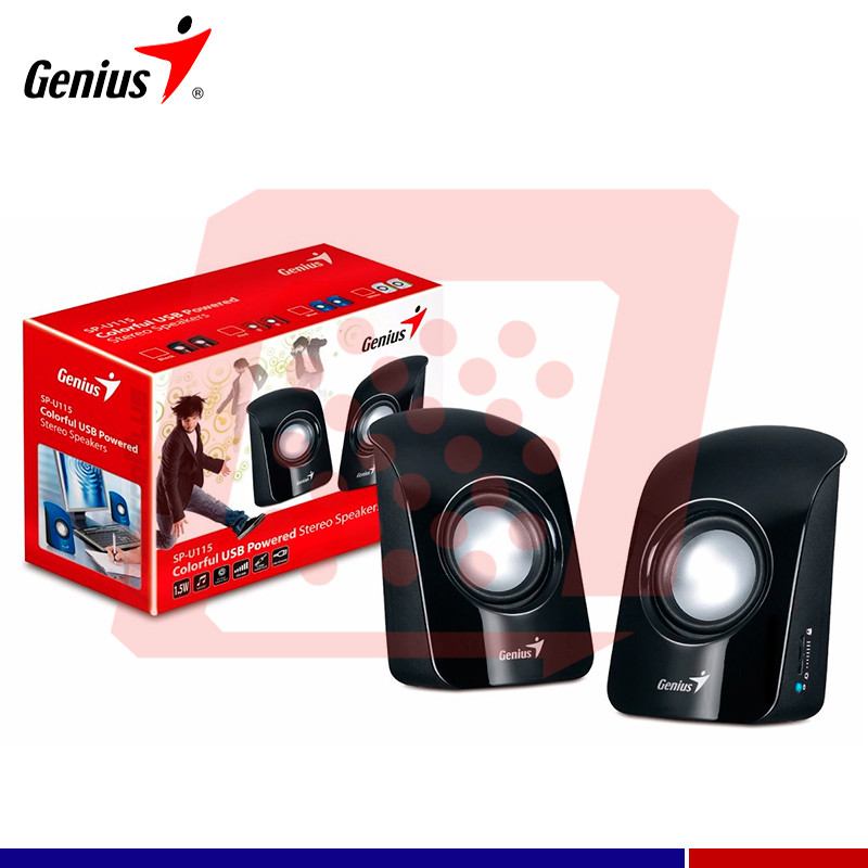 PARLANTE GENIUS SP-U115 BLACK