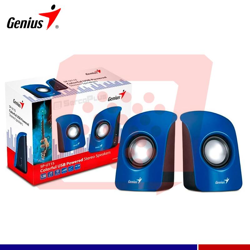 PARLANTE GENIUS SP-U115 BLUE
