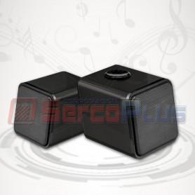 Parlante 2.0 USB IRIS-02 Negro
