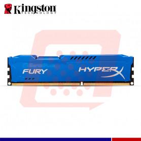 MEM. RAM HYPERX FURY BLUE 4GB DDR3 1333 MHZ