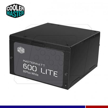 FUENTE COOLER MASTERWATT LIFE 600W 80 PLUS STANDAR