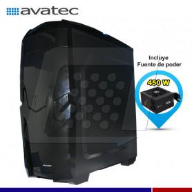 CASE AVATEC CCA-4115BL 450W