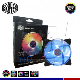 COOLER CASE MASTERFAN PRO 140 MM RGB