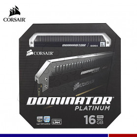 MEM. RAM CORSAIR DOMINATOR PLATINUM 16GB (2x8) DDR4 3200 MHZ.