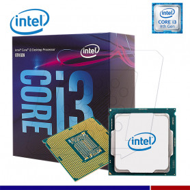PROCESADOR INTEL CORE I3-8100